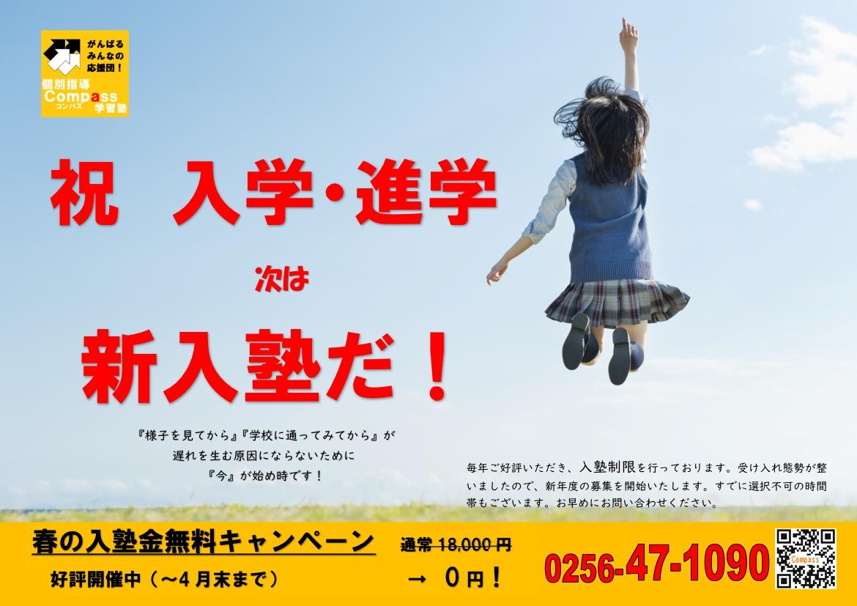 4月17日(土)新潟日報折込チラシです。